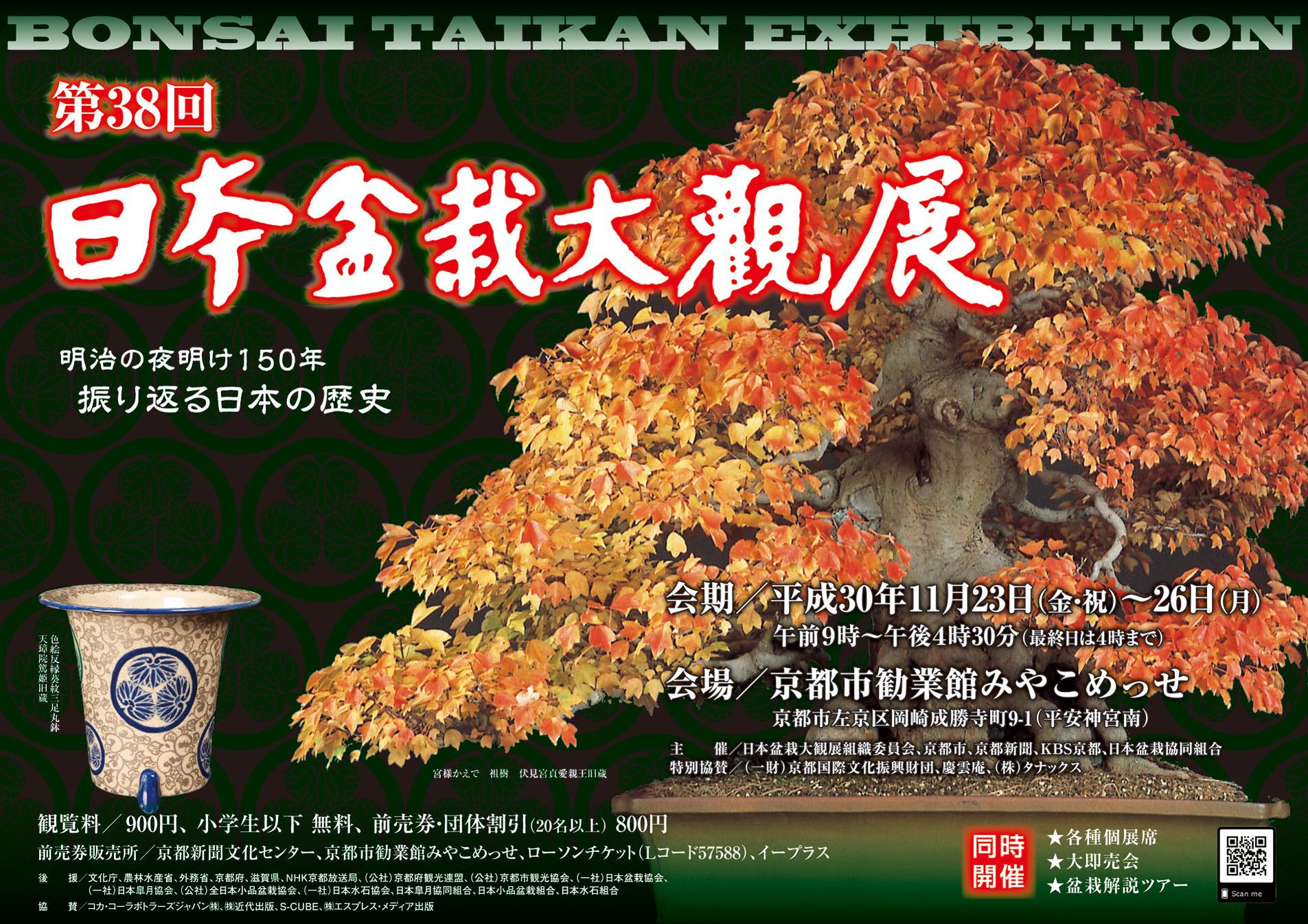 第38回日本盆栽大観展