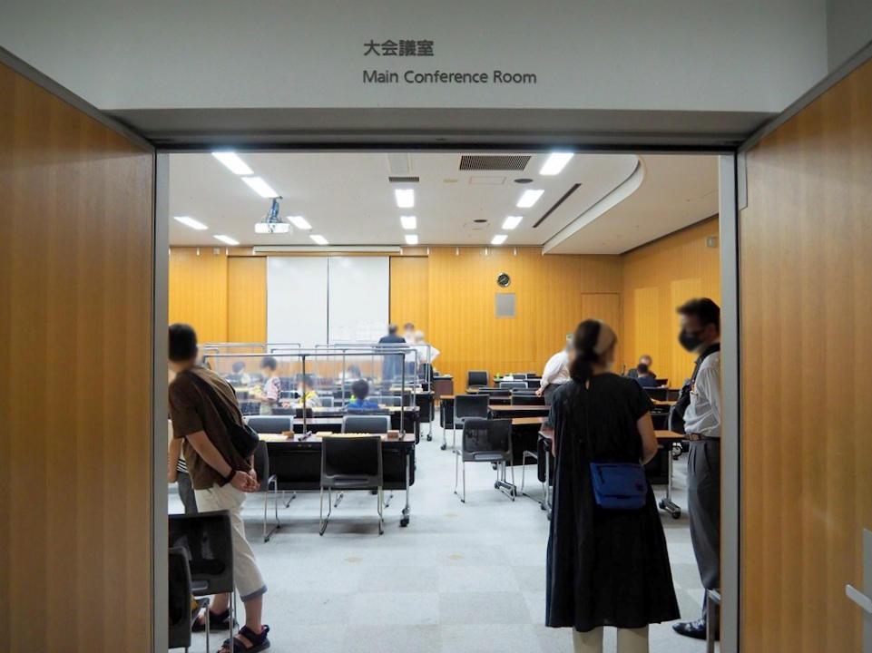 大会議室|入口から室内の様子